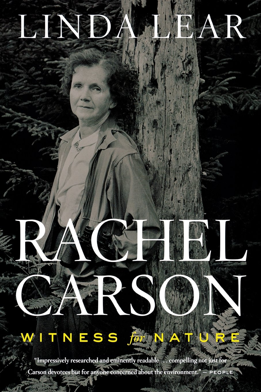 rachel carson witness for nature linda lear  rachel carson witness for nature linda lear 9780547238234 com books