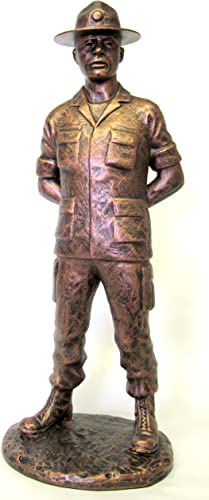 Terrance Patterson Gallery Army Drill Instructor Statue, 12
