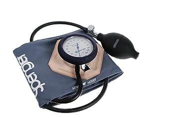 Spengler Vaquez-Laubry Classic - Tensiómetro con brazalete infantil y adulto (velcro, algodón, talla S), color gris: Amazon.es: Salud y cuidado personal