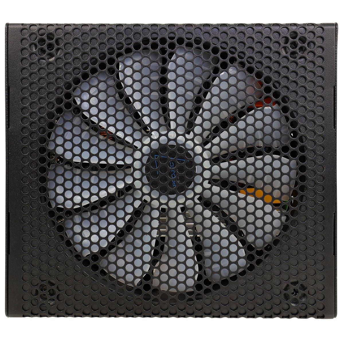 Aerocool XPREDATOR650GMS 650W, ATX, 12V, PFC activo, incluye ventilador 14 cm, 80 Plus Gold, eficiencia +90/% Fuente de alimentaci/ón modular para PC color negro