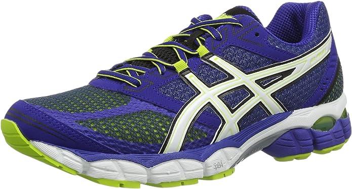 Asics Gel-Pulse 5, Zapatillas de Running para Hombre, Azul/Blanco ...