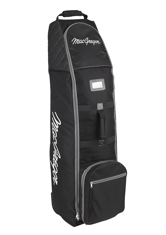 MacGregor VIP Deluxe - Bolsa de Golf de Viaje con Ruedas, Color Negro