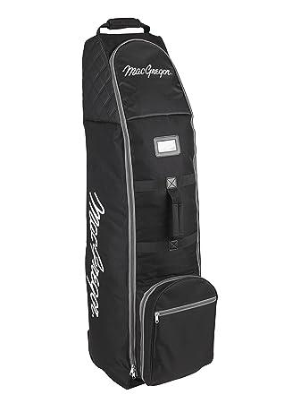 MacGregor VIP Deluxe - Bolsa de Golf de Viaje con Ruedas, Color Negro: Amazon.es: Deportes y aire libre