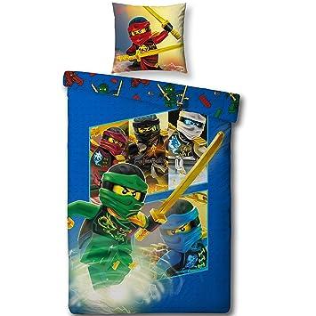 Lego Ninjago Kinderbettwäsche Team Ninja Kinder Jungen