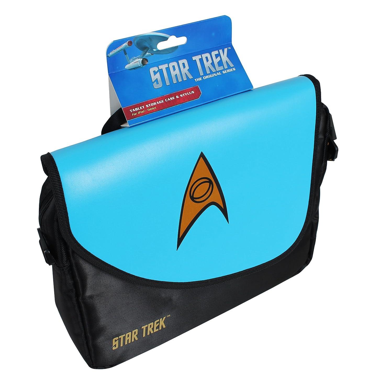 Science Blue ORB Star Trek Messenger Bag for Upto 10 inch Tablet