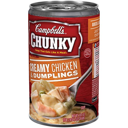 Amazon.com : PACK OF 18 - Campbells Chunky Creamy Chicken ...