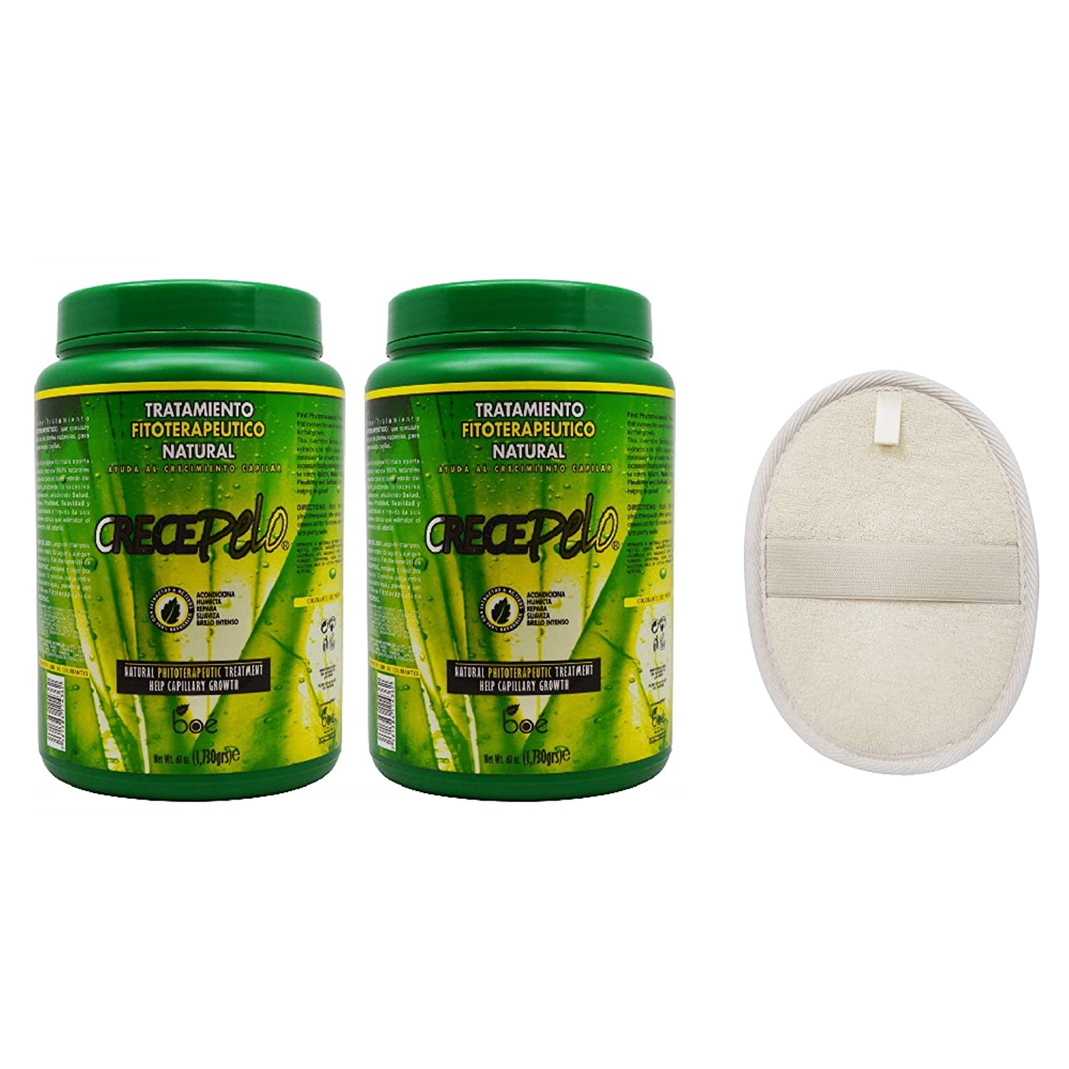 Crecepelo Tratamiento Fitioterapeutico Natural(Phitoterapeutic Treatment) 61oz (2PCS)