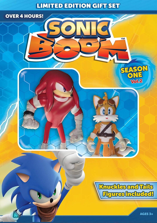 Amazon Com Sonic Boom Season 1 Vol 2 With Knuckles And Tails Figures Roger Craig Smith Natalys Raut Sieuzac Movies Tv