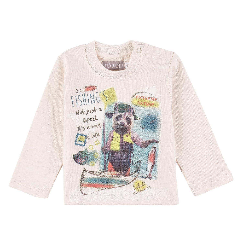 boboli Knit T-Shirt for Baby Boy, Bimbo
