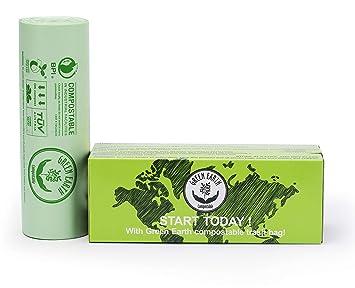 Amazon.com: Green Earth Compostable, bolsas para productos ...