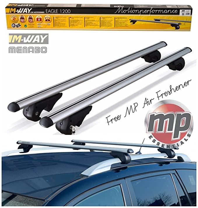 Lockable Roof Bars Skoda Octavia III Estate 5 Door 13-On Aero MWay Eagle