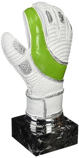 Art-Trophies TP419 Trofeo Guante de Portero, Blanco/Verde, 25 cm: Amazon.es: Deportes y aire libre
