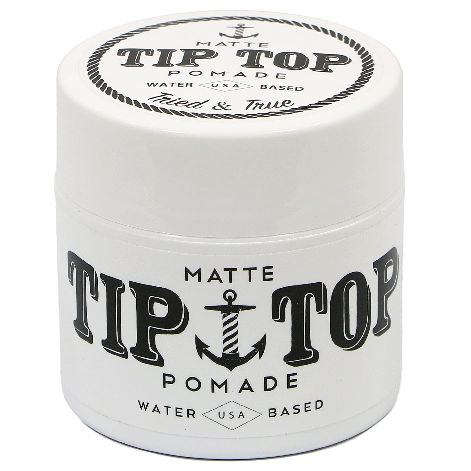 Tip Top Matte Water Based Medium Hold Pomade 4.25oz