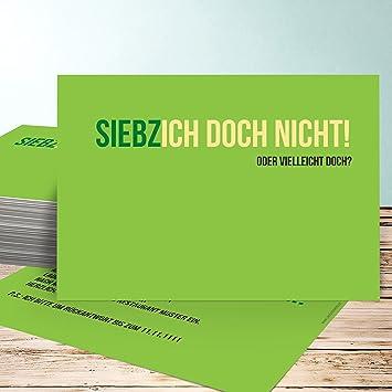 Einladung 70 Geburtstag Selbst Gestalten, Siebzich 35 Karten, Horizontal  Einfach 148x105 Inkl. Weiße