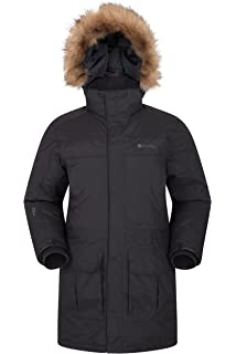 d703a6c30489 Mountain Warehouse Antarctic Extreme Down Mens Jacket - Adjustable Waist