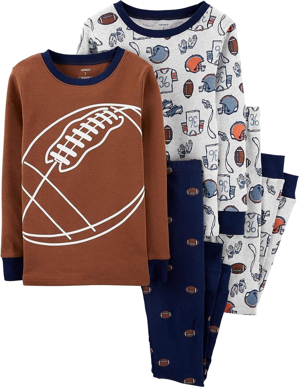 Ninja Snug Fit Cotton Pajamas 12 Months Carters Boys 2T-20 4-Pc