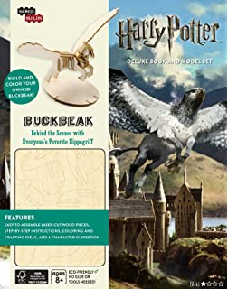 IncrediBuilds Harry Potter Buckbeak Deluxe Book And Model Set