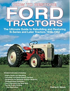 Agriculture/farming Tractor Manuals & Publications Well-Educated Ford Tractors Workshop Manual 10 Series