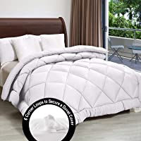 MSKS SHILPIIMPEX 300 GSM Microfiber Reversible AC Comforter/Quilt/Rajai, Multi