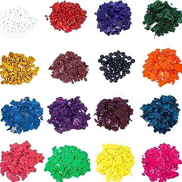 Wax Dye - DIY Candle Dye - Dye Flakes for Candle Making Supplies Kit ...