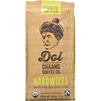 DOI CHAANG COFFEE Hardwired Whole Bean Dark Roast Blend, 340gm