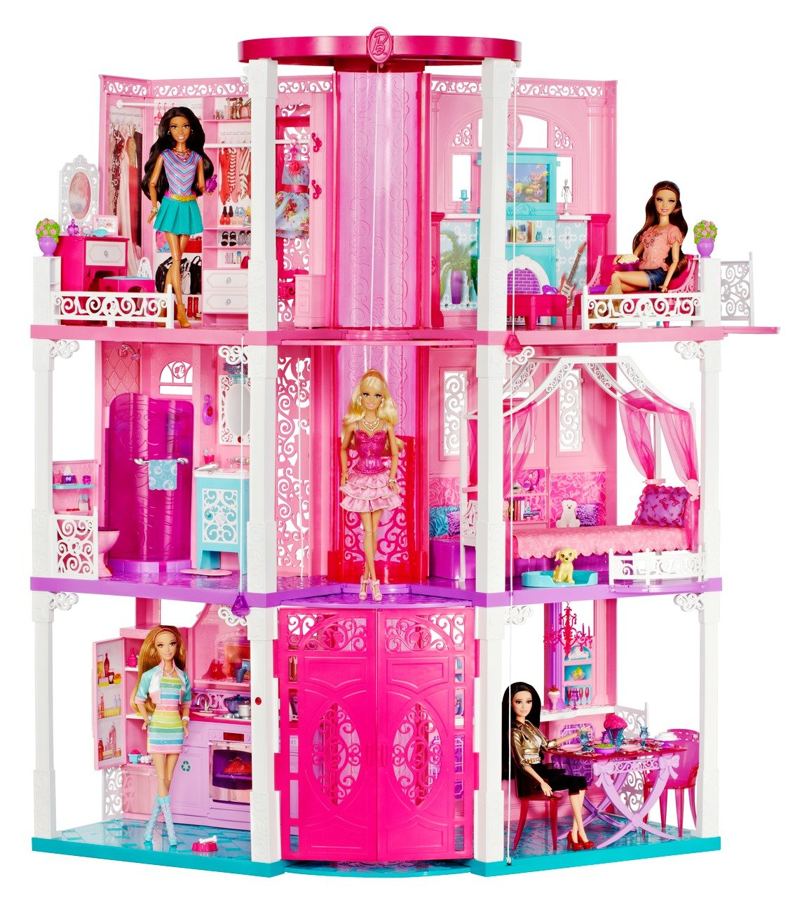 Barbie dream house layout