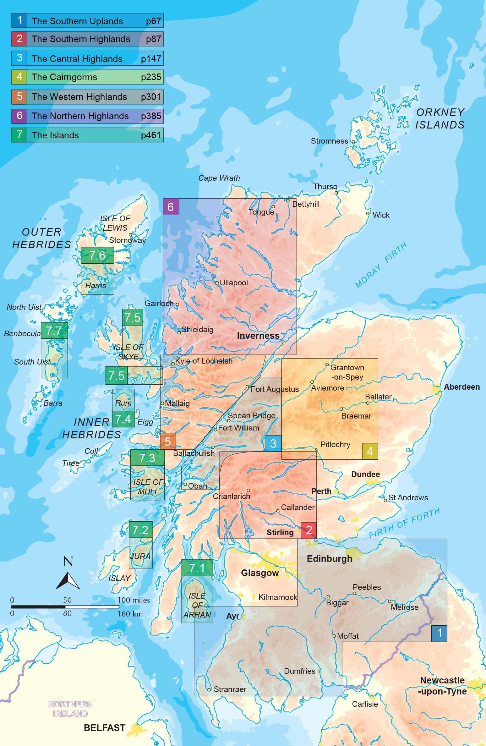 Scotland: The World\'s Mountain Ranges (World Mountain Ranges ...