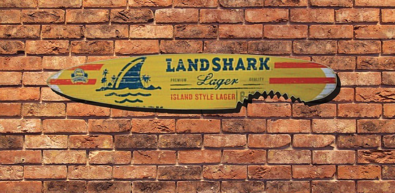 Amazon.com: Cerveza Lager Landshark isla estilo 6 tabla de ...