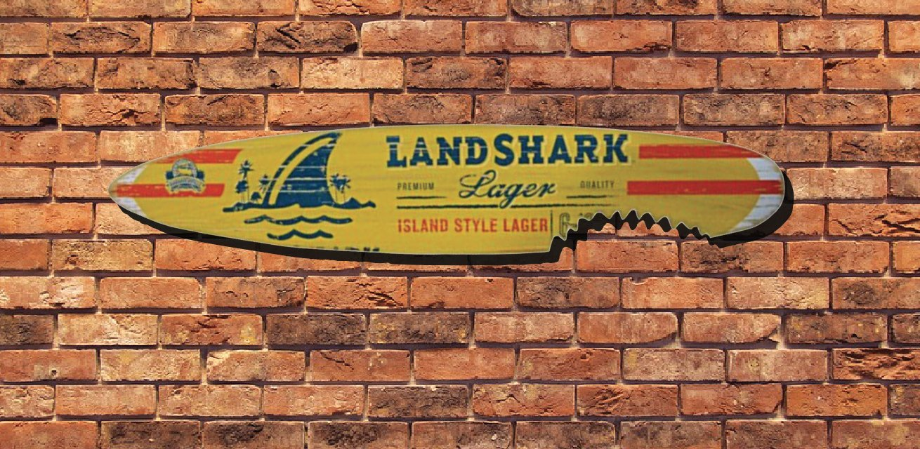 Amazon.com: Landshark Island Style Lager 6\' Surfboard: Home & Kitchen