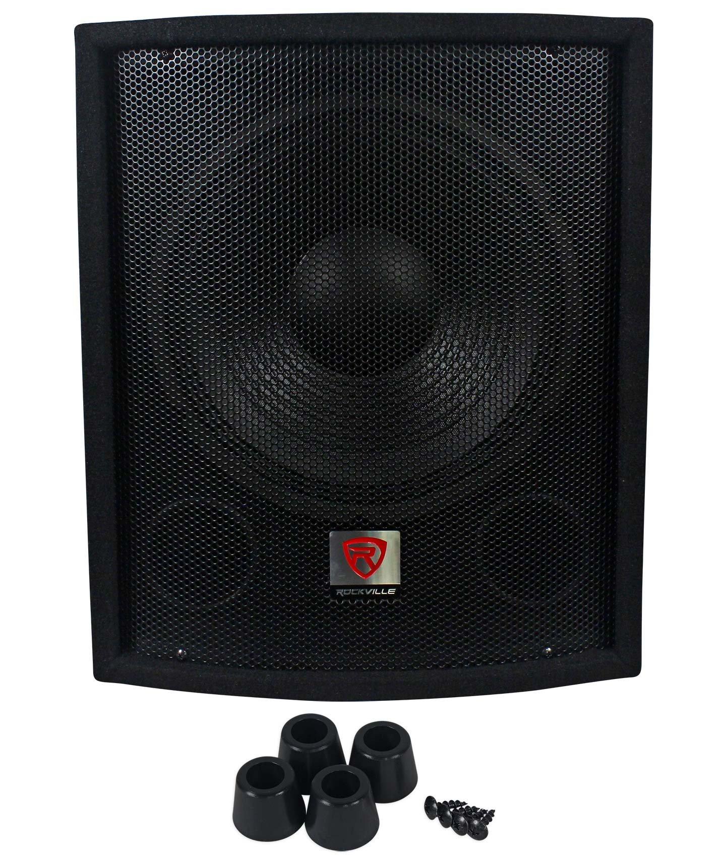 Rockville SBG1128 12'' 600 Watt Passive Pro DJ Subwoofer, MDF Cabinet/Pole Mount by Rockville (Image #2)
