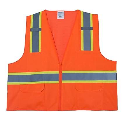 2XL Graintex SV2329 Class 2 SAFETY Vest Orange