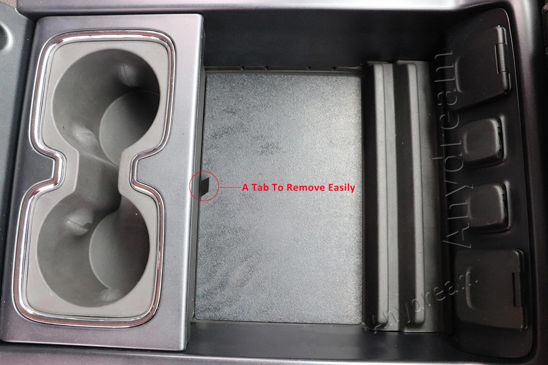 Anydream Secret Compartment Center Console Organizer Tray