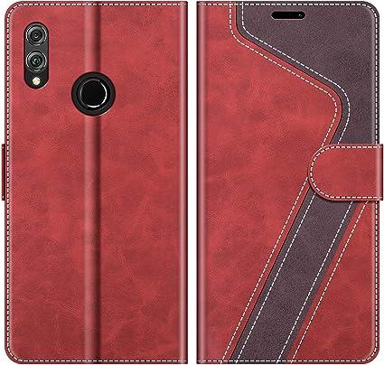 Coque Honor 8X Housse Étui en Cuir Flip Cover Portefeuille [Fermeture Magnétique] Protection Huawei Honor 8X 6.5