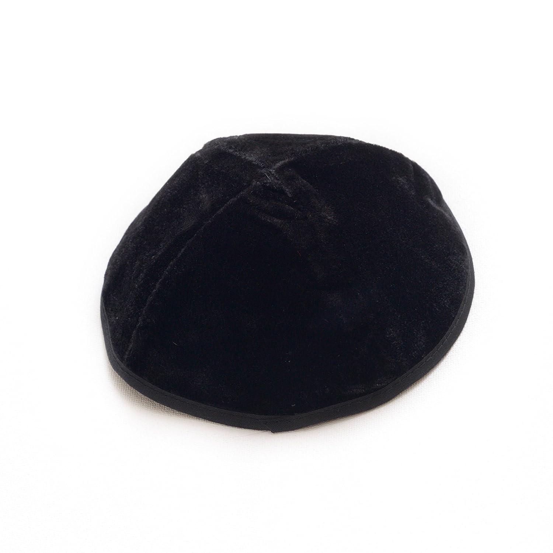 Kippah 20 cm Größe jüdische Kipa Velvet Schwarz Kipa Head Cover Urlaub