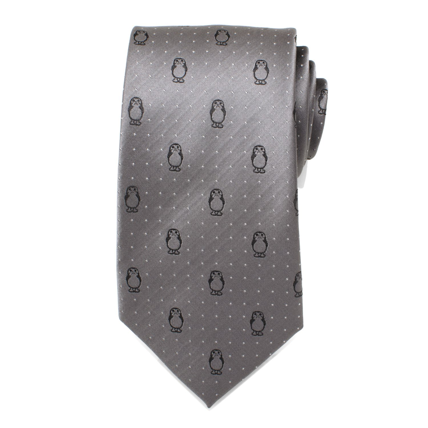 Star Wars - Corbata, diseño de lunares, color gris: Amazon.es ...