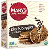 Mary's Gone Crackers, Black Pepper, 6.5 Ounce