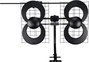 Antennas Direct Clearstream 4V Indoor/Outdoor HDTV Antenna with Mount - 70 Mile Range - C4-V-CJM