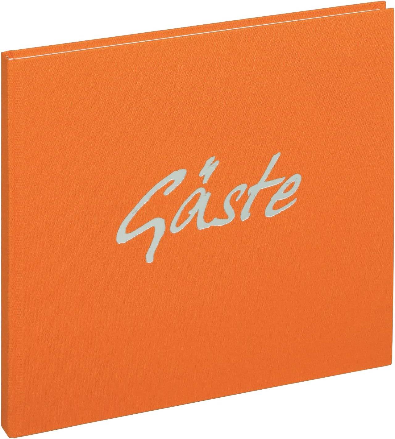 Orange Pagna G/ästebuch