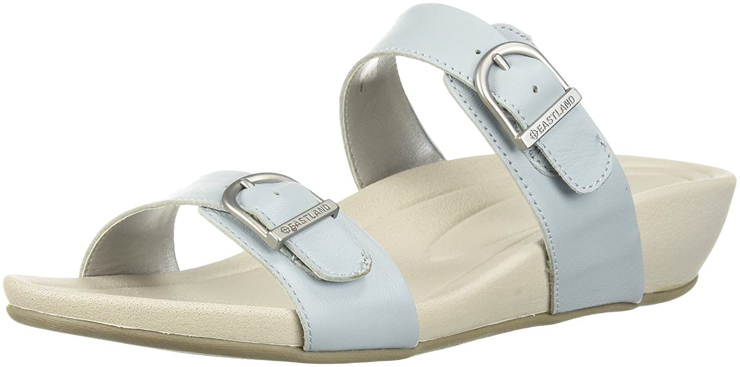 Eastland Women's Cape Ann Slide Sandal B076QTBM74 8 B(M) US|Light Blue