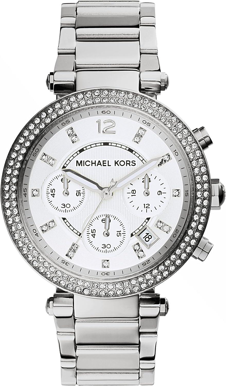 Michael Kors Women's 39mm Chronograph Steel Bracelet & Case Quartz Watch MK5353