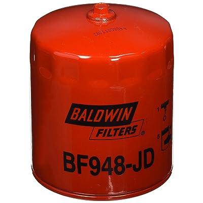 Baldwin Heavy Duty BF948-JD Fuel Filter,4-11/16x3-11/16x4-11/16 In: Automotive