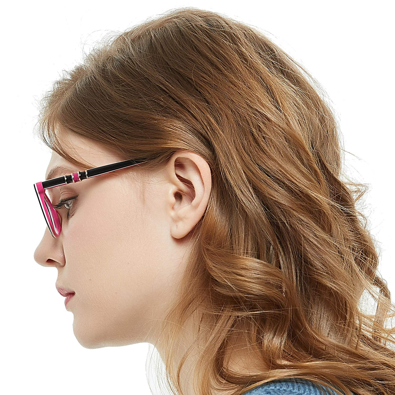 Amazon com occi chiari stylish square non prescription glasses frame clear lense eyeglasses women clothing