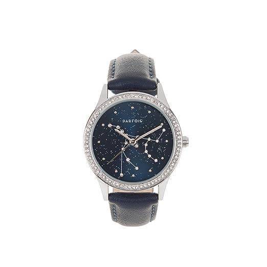 Parfois - Reloj Cosmic - Mujeres - Tallas M - Azul Oscuro: Amazon.es: Relojes