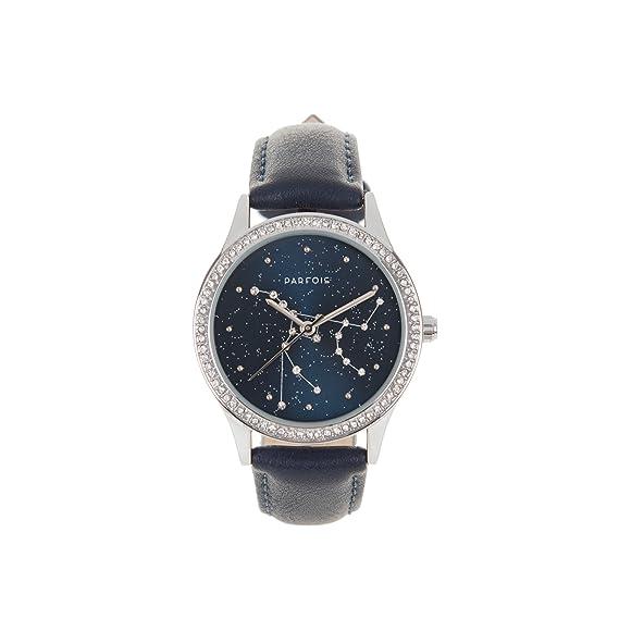 Parfois - Reloj Cosmic - Mujeres - Tallas M - Azul Oscuro