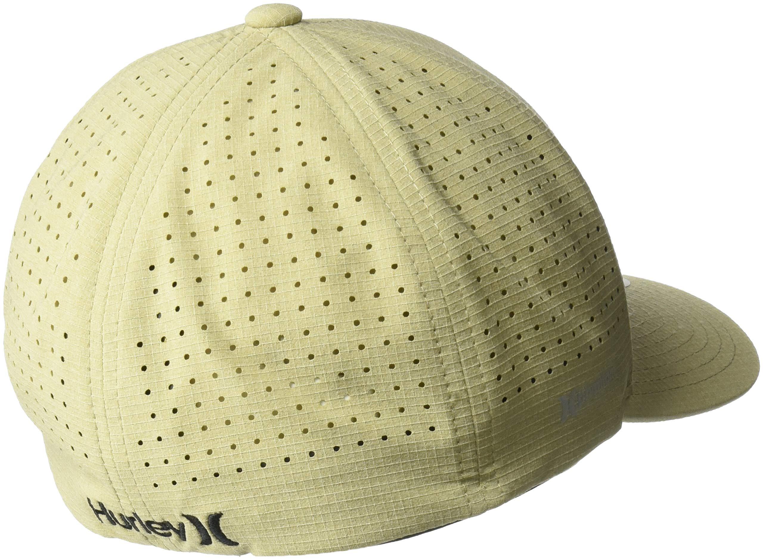02955c32 Hurley Men's Phantom Ripstop Curved Bill Baseball Cap