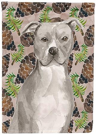 Caroline \'s Treasures BB9570GF Staffordshire Bull Terrier - Bandera ...