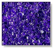 Fire Pit Glass Cobalt Blue 3/8 10 LBS