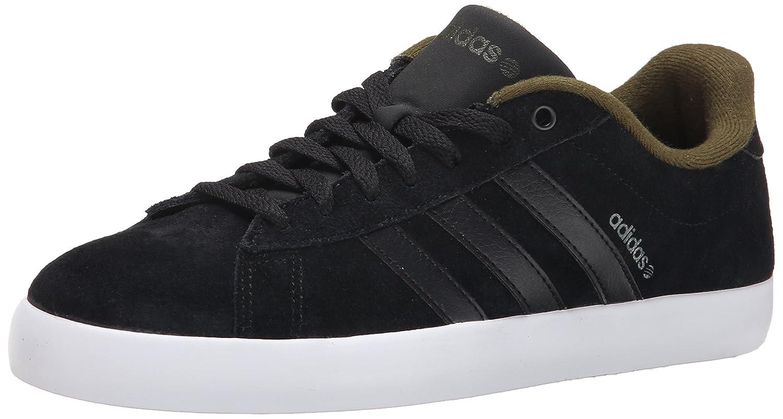 size 40 b2f22 685ae Amazon.com   adidas NEO Men s Derby ST Fashion Sneaker, Black Black Dust  Green, 8.5 M US   Fashion Sneakers