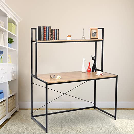 Woltu Escritorio para Ordenador - tsb02hei-c mobiliario de Oficina ...