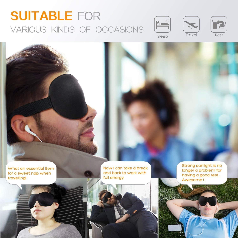 FITFORT 3D Sleep Eye Mask Cover